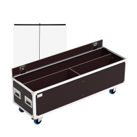 Flight cases for sanitary protection