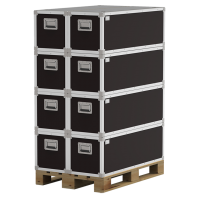 Pallet optimized containers