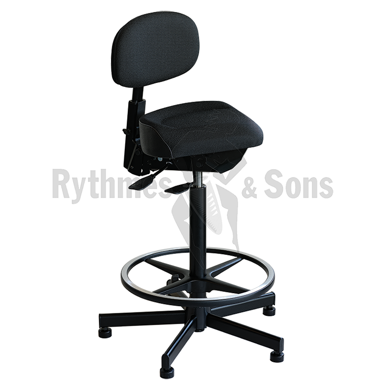 rythmes sons adjustable chair for percussionist timpanist