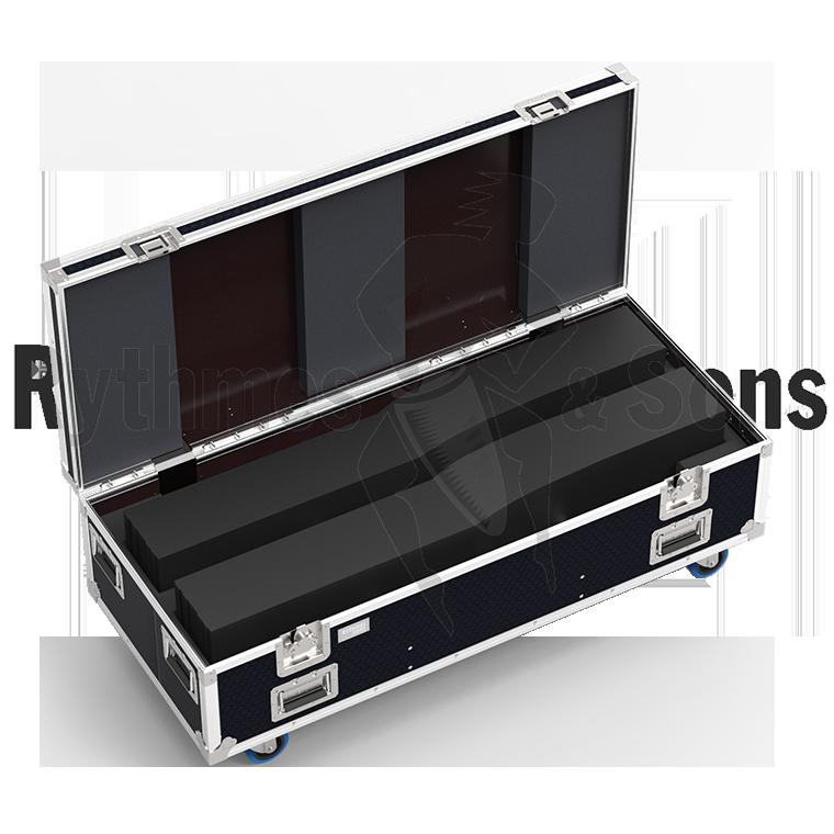 FLight cases for loudspeakers | Rythmes & Sons