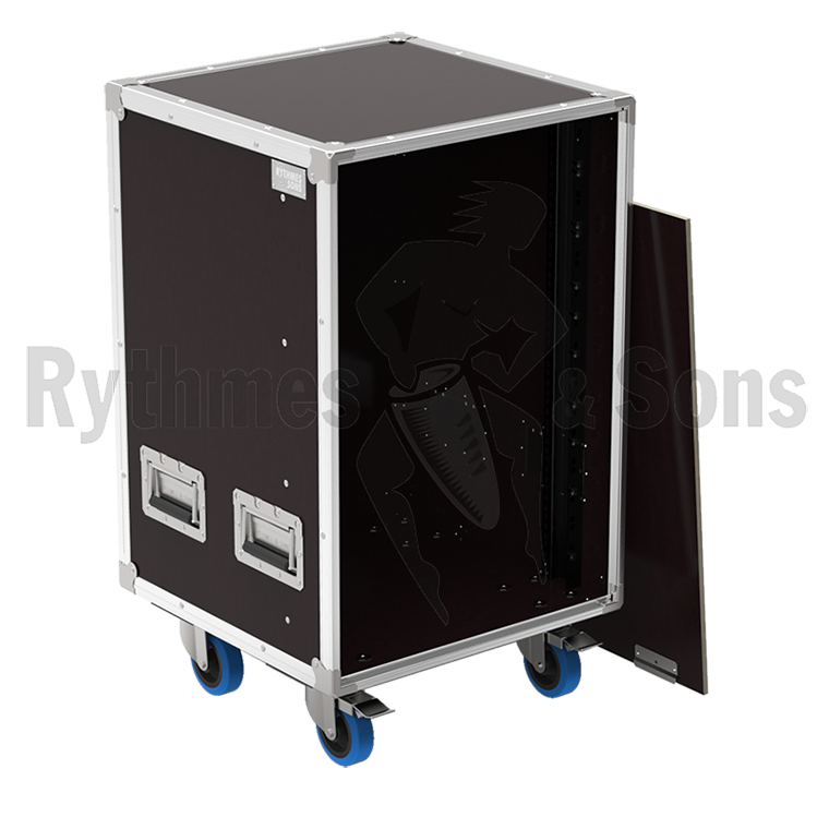 flight case de rangement 19 openroad 16u sans tiroir rangements tiroirs flight cases. Black Bedroom Furniture Sets. Home Design Ideas