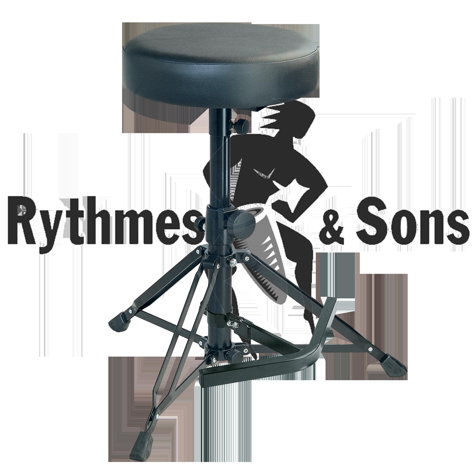 tabouret koenig meyer k m avec repose pied pour jeune contrebassiste chaises tabourets et. Black Bedroom Furniture Sets. Home Design Ideas