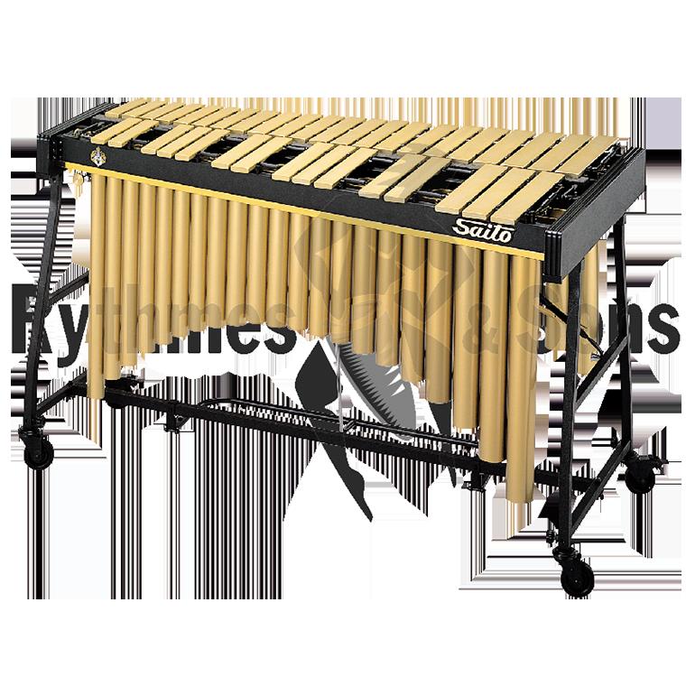 vibraphone saito vs 1500dc 3 octaves clavier doré