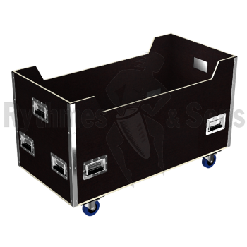 Flight-case - Bac de transport et stockage 1000x800x600 Ep.