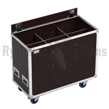 Flight-case OPENROAD® pour 6 Lutins 306+crochets-1