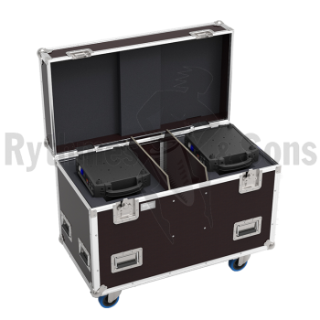 Flight-case pour 2 lyres MARTIN RUSH MH1 PROFILE|RUSH MH1 PR
