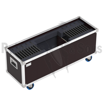 Flight-case pour 20 éclairages Notelight R&S 18 LED + câb-1