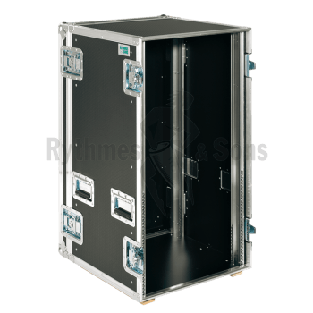 Flight-case - Rack 19' lourd 20U, prof. 550mm