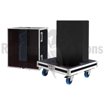 Flight-case 2 enceintes M4 D&B-1