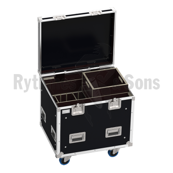 Flight-case 2 enceintes QFRAME D&B-1