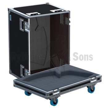 Flight-case 2 enceintes DX15 APG