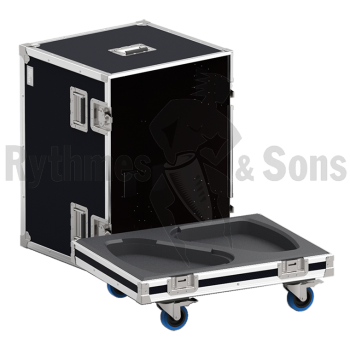 Flight-case 2 enceintes MAX2 D&B-1