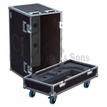 Flight-case 2 enceintes NUQ15 TURBOSOUND