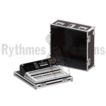 Flight-case pour table de mixage YAMAHA TF3