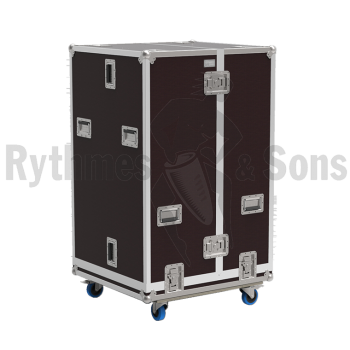 Flight-case type 'cloche' en 2 parties-1
