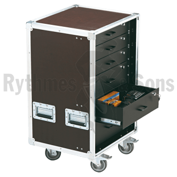 Flight-case - Fligh-case OPENROAD® rangement 16U avec 6 t-1
