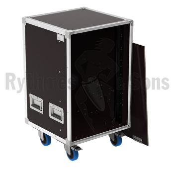 Flight-case - Fligh-case OPENROAD® rangement 16U sans tiroir