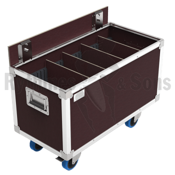 Flight-case - Malle OpenRoad® 800x400x400 Clair + Aménage-1