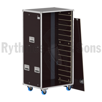 Flight-case - Rack à bacs OpenRoad® 800x600xH1400 vide-1