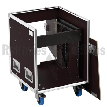 Flight-case - Régie mobile 19' Open Road® 8Ux10U-1