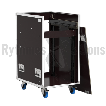 Flight-case - Régie mobile 19' Open Road® 16Ux14U inclina-1