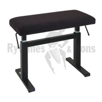 ANDEXINGER Stool with Black Fabric Seat