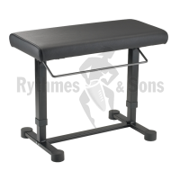 KONIG & MEYER (K&M) 14080 Piano bench 'Uplift', Black imitation leather