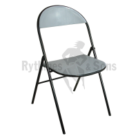 Polypropylen folding chair for public