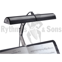 Set of 20 KONIG & MEYER (K&M) 12260 lightings for double Music Stand