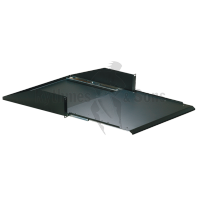 Flight-case - Tablette coulissante 19' 2U