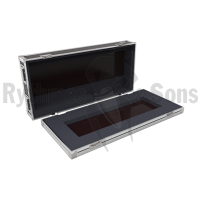 Flight case for CONGO JUNIOR+MasterPlayback 2x20 - ETC lighting console+MasterPlayback 2x20