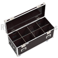 Classic flight case 1200x500xH500 for 4x2 spotlights