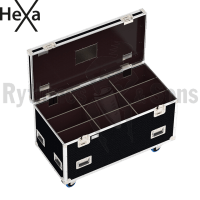 HEXA Classic flight case 1200x600xH600 for 3x3 spotlights