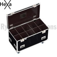 HEXA Classic flight case 1200x600xH600 for 5x2 spotlights