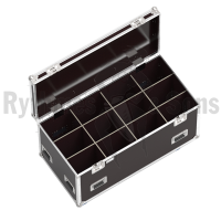 Classic flight case 1200x600xH600 for 4x3 spotlights