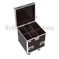 Classic flight case 600x600xH600 for 3x2 spotlights