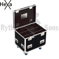 HEXA Classic flight case 800x600xH600 for 2x3 spotlights
