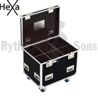 HEXA Classic flight case 800x600xH600 for 3x2 spotlights