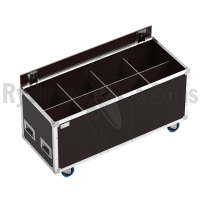 OPENROAD<sup>®</sup> flight case 1200x500xH500 for 4x2 spotlights