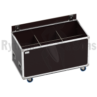 OpenRoad<sup>®</sup> flight case 1200x600xH600 for&nbsp;3x2&nbsp;spotlights
