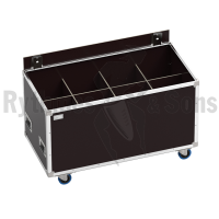 OPENROAD<sup>®</sup> flight case 1200x600xH600 for 4x2 spotlights