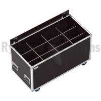 OPENROAD<sup>®</sup> flight case 1200x600xH600 for 4x3 spotlights