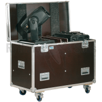 Flight-case pour 2 lyres COLOR SPOT 250 - ROBE / COLOR WASH