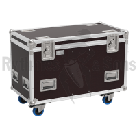Flight-case pour 2 lyres RUSH MH7 HYBRIDE - MARTIN