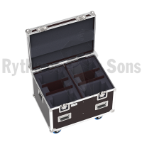 Flight-case pour 4 lyres RUSH MH5 PROFILE - MARTIN