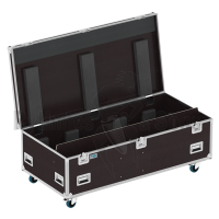 Flight case for followspot CYRANO JULIAT