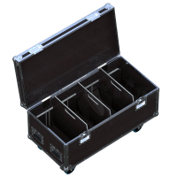 Flight case for 3 to 6 manual chain hoists