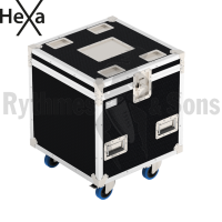 HEXA Classic flight case 600x600xH600 for 3x2 spotlights