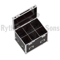 Classic flight case 800x600xH600 for 3x2 spotlights