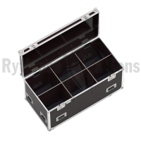 Classic flight case 1200x600xH600 for 3x2 spotlights